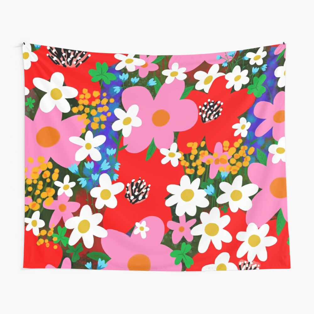 Flower Power! Wall Tapestry