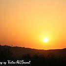 the sunset by Fatima ALShamsi