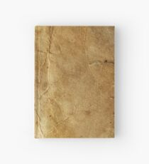 Old paper texture Hardcover Journal