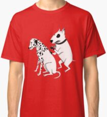 Pittbul tattooing Dalmatian Classic T-Shirt