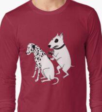 Pittbul tattooing Dalmatian Long Sleeve T-Shirt