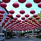 Red Lanterns by William Dyckman