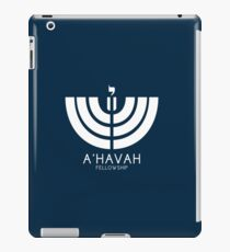A'HAVAH FELLOWSHIP LOGO iPad Case/Skin