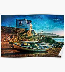 Lanzarote Sunset Poster