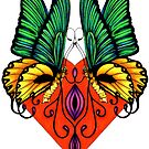 Winged Beauty by Sheryl Unwin