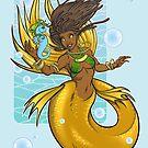 Island Mermaid Bubbles by cybercat