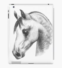 Arab horse head iPad Case/Skin