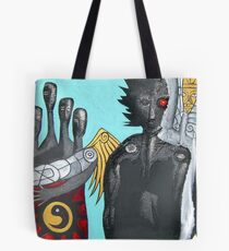 four seasons and her sun Tote Bag
