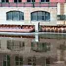 Reflection of Milwaukee River ©  by Dawn Becker