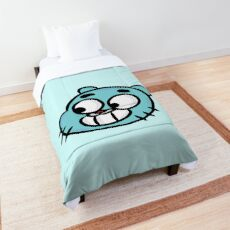 Smiling Gumball Watterson - The Amazing World of Gumball Comforter