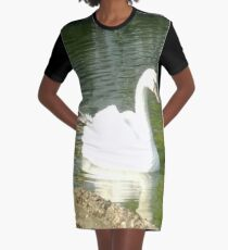 Merch #47 -- Swan - Shot 5 Graphic T-Shirt Dress