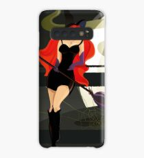 Pretty Witch. Halloween night. Case/Skin for Samsung Galaxy