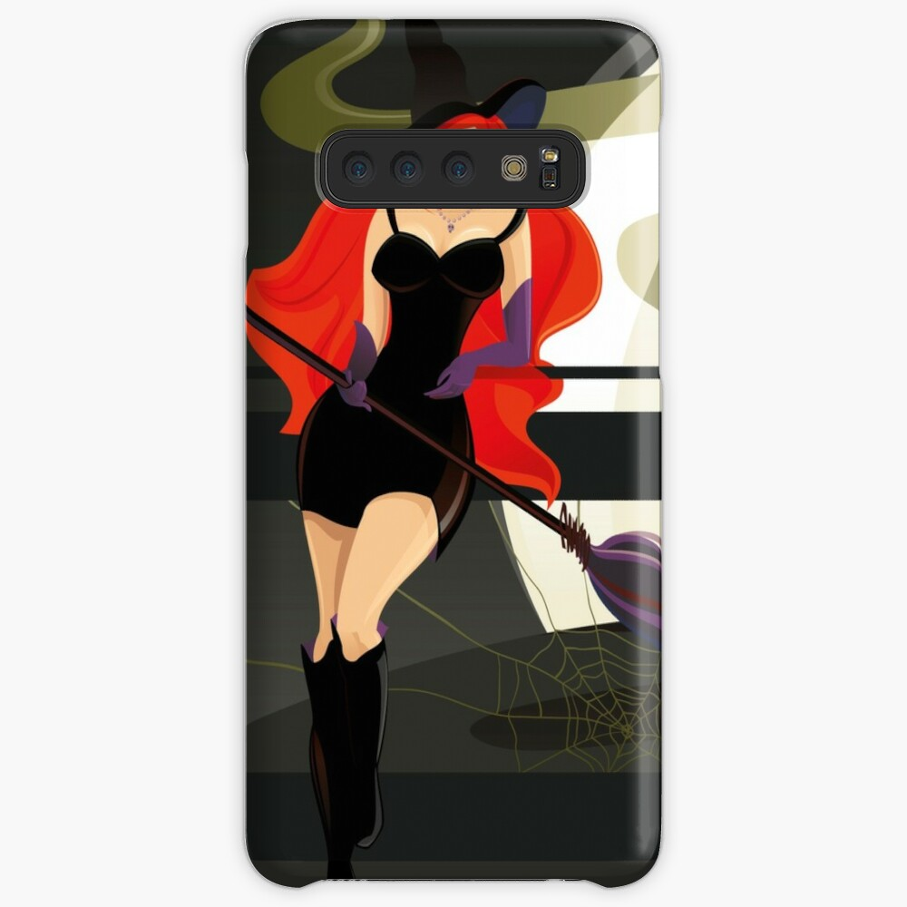Pretty Witch. Halloween night. Samsung Galaxy Snap Case
