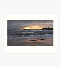 Longsands - Tynemouth Art Print