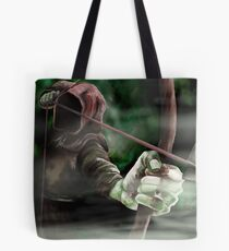 Robin the Hooded Man - Sherwood Forest, Robin Hood, Archer, Nottingham Tote Bag