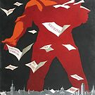 """Publication is a weapon of the proletariat"" Soviet constructivist propaganda poster, 1968 by dru1138"