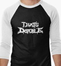 That's Doable Men's Baseball ¾ T-Shirt