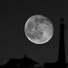 Lighthouse Moon by SuddenJim