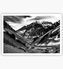 Aconcagua Mountain Sticker