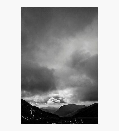 Half Way up Mount Snowdon Photographic Print