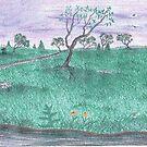 Purple Skies by PoeticHeartArt