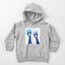 Quirky Emus Toddler Pullover Hoodie