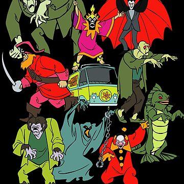 Scooby Doo Villians de astropop