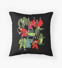 Scooby Doo Villians Throw Pillow