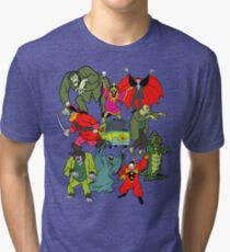 Scooby Doo Villians Tri-blend T-Shirt