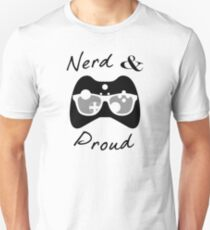 Nerd & Proud (dark) T-Shirt