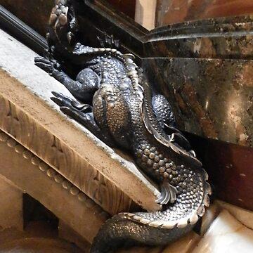 hiding staircase dragon by rachelshade