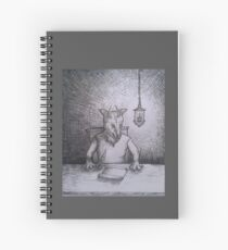 ::: Wolpertinger ::: Spiral Notebook