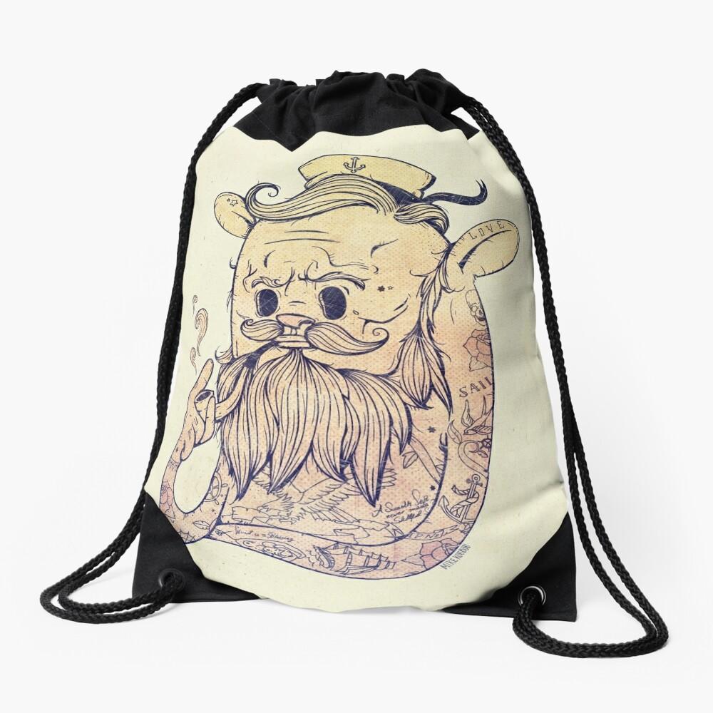 Hello Sailor!! Drawstring Bag