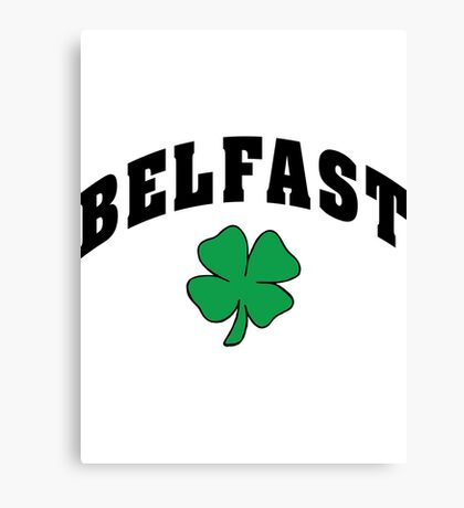 Belfast Irish Canvas Print