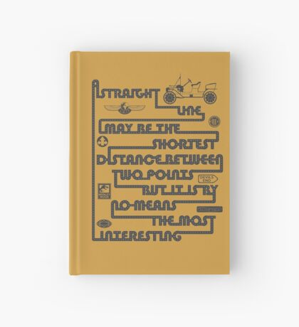 A Straight Line Hardcover Journal