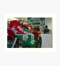 Haliwood's Ilse of Man F1 TT Motorcycle Art Print