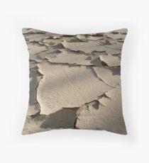 Cracking Throw Pillow