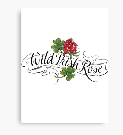 Wild Irish Rose Canvas Print