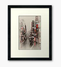 Kichijoji Sidestreet Framed Print