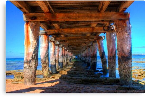 Point Lonsdale Pier by John Bullen