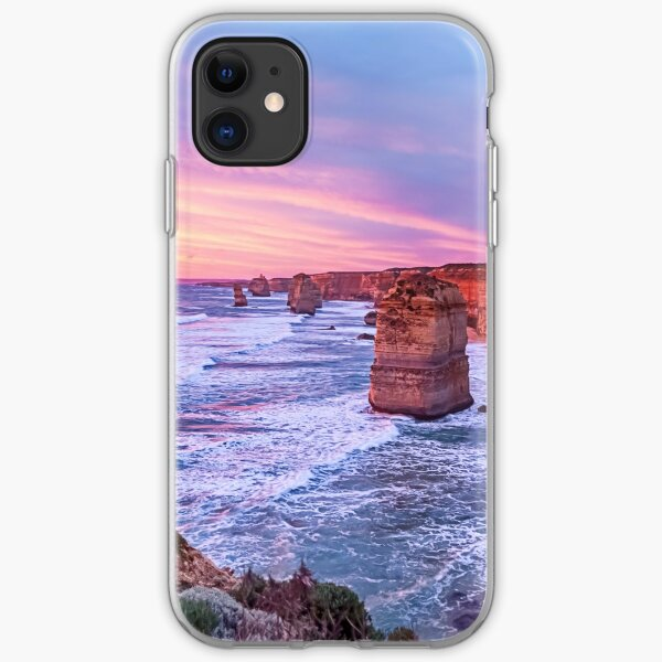 12 Apostles at Sunset II iPhone Soft Case