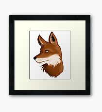 Sly Fox Framed Print