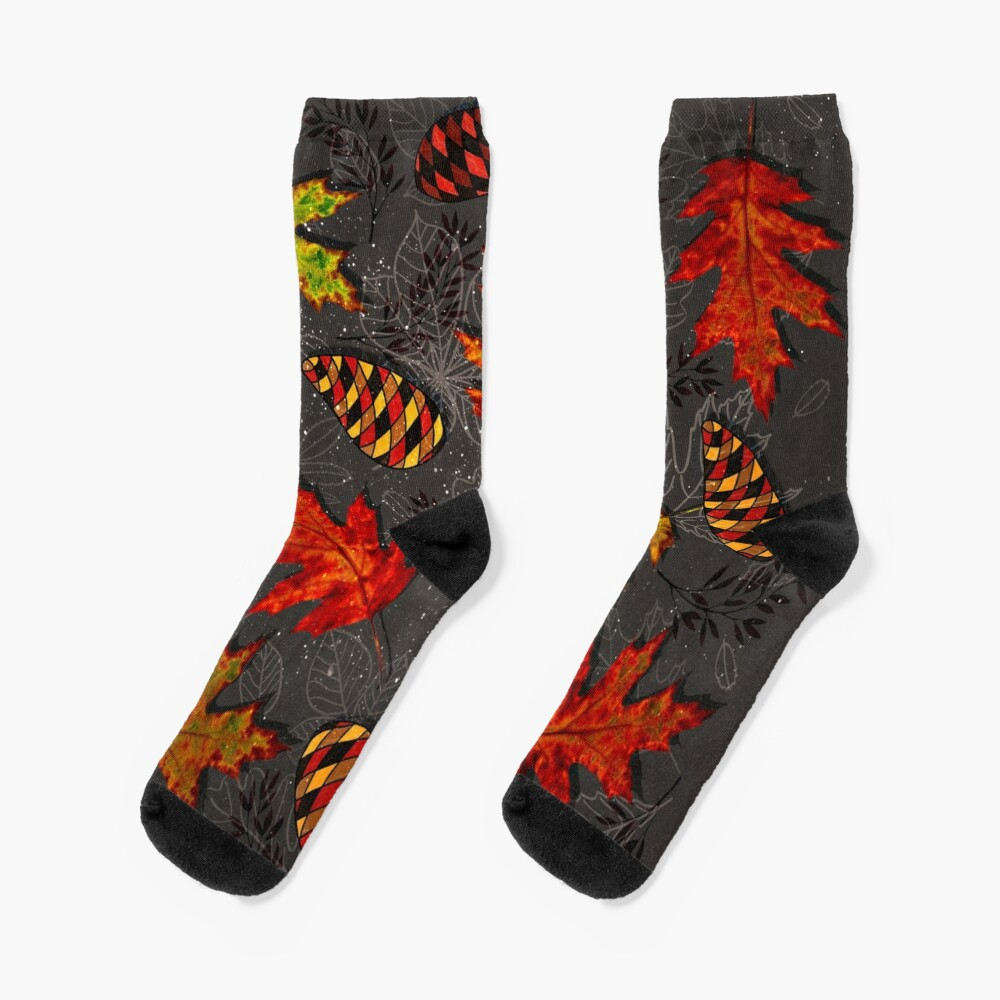 Autumn Galaxy Socks