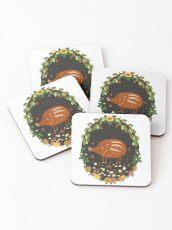 Teddy boar Coasters