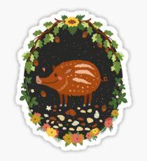 Teddy boar Glossy Sticker