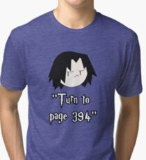 Turn to page 394 Tri-blend T-Shirt
