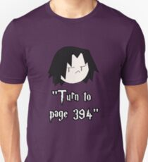 Turn to page 394 Unisex T-Shirt