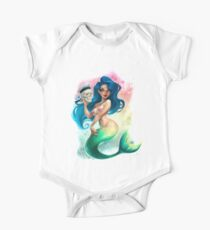 Mermaid and Sailor One Piece - Short Sleeve