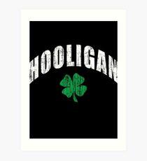 Irish Hooligan Art Print