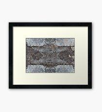 Grey. Framed Print